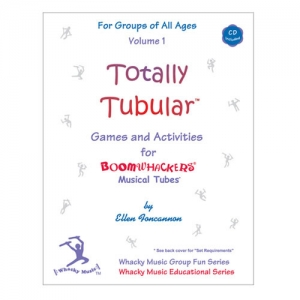 붐웨커 교재 Totally Tubular Game and Active Vol.1 CD포함 EFT1뮤직메카