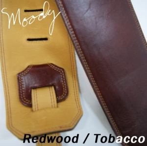 "Moody Leather / Suede - 4"" - Long (Redwood / Tobacco)뮤직메카"