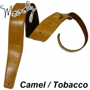 "Moody 무디 스트랩/멜빵 Leather / Suede - 2.5"" - Std (Camel / Tobacco)뮤직메카"