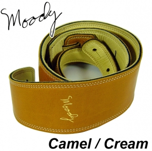 "Moody Leather / Suede - 2.5"" - Long (Camel / Cream)뮤직메카"