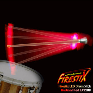 "Firestix LED Drumstick ""Radiant Red"" LED 드럼스틱 FX12RD 뮤직메카"