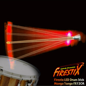 "Firestix LED Drumstick ""Mango Tango"" LED 드럼스틱 FX12OR 뮤직메카"