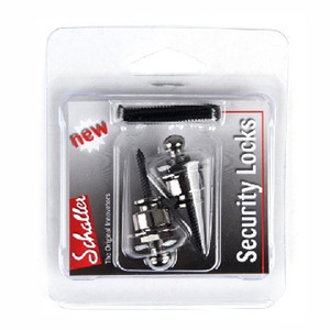 Schaller 쉘러 스트랩락 Securty Lock Ruthenium(Black Chrome) (블랙크롬)
