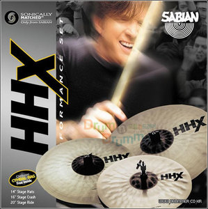 Sabian 사비안 심벌세트 HHX STAGE Performance Set
