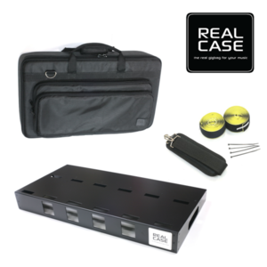 RealCase 리얼케이스 PBL Strong (라지 사이즈 페달보드 + Strong 골격삽입 가방 + 벨크로세트)