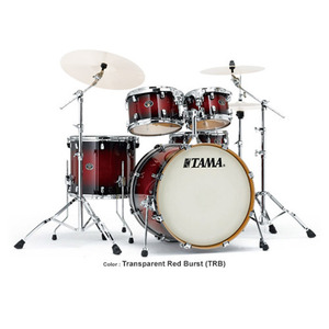 Tama 타마 드럼세트 SilverStar Birch Transparent Red Burst VP52KRS-TRB+HB5W (심벌미포함)