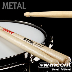 Wincent 윈센트 드럼스틱 'METAL!!' Drum Stick /W-Metal 5BXXL