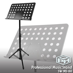 PDH 2단 고급형 보면대 (Music Stand) SW-MS-60뮤직메카