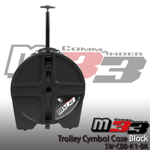 M33 Trolley Cymbal Hard Case Black 22 심벌케이스 SW-CBB-K1-BK 뮤직메카