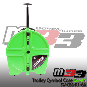 M33 Trolley Cymbal Hard Case Green 22 심벌케이스 SW-CBB-K1-GR 뮤직메카