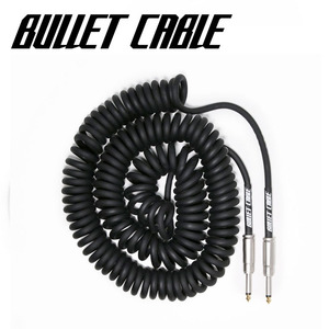 Bullet Cable 불렛 케이블 Coil Cable Black (BC-30CC) / 9.4m