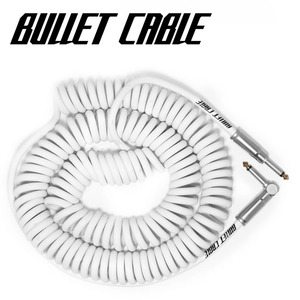 Bullet Cable 불렛 케이블 Coil Cable White (BC-30CCW) / 9.4m