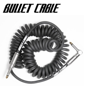 Bullet Cable 불렛 케이블 Coil Cable Black (BC-15CCB) / 5.18m