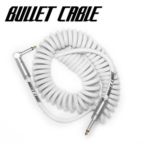 Bullet Cable 불렛 케이블 Coil Cable White (BC-15CCW) / 5.18m