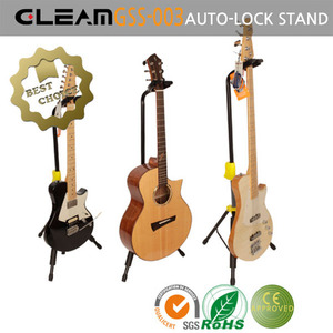 Gleam 기타/베이스 스탠드 GSS-003 Self-locking Guitar Stand
