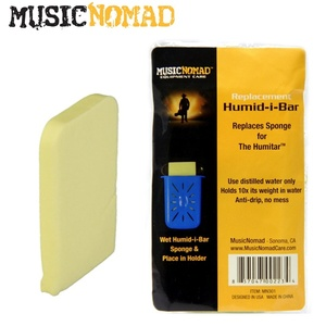 Music Nomad 뮤직노매드 Humid-i-Bar Replacement Sponge - Humitar 리필 용 스펀지뮤직메카