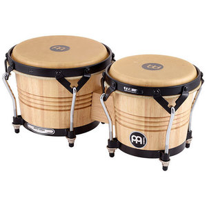 Meinl 나무 봉고 Luis Conte모델 6 3/4 & 8인치 Natural MCP LC300NT-M뮤직메카