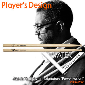 Vater 베이터 드럼스틱 Marvin Smitty Smith 시그네쳐 Power Fusion VHSMTYW