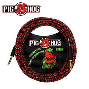 PIG HOG 피그호그 기타 케이블 TARTAN PLAID 6m INSTRUMENT CABLE