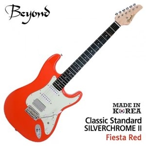 Beyond 비욘드 일렉기타 Classic Standard Silver Chrome II (F.Red)뮤직메카