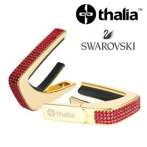 Thalia 탈리아 카포 Swarovski Ruby Crystal Inlay / 24k Gold G200-SC-S