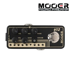 Mooer 무어 기타이펙터 Digital Preamp / US GOLD 100 012 US GOLD 100