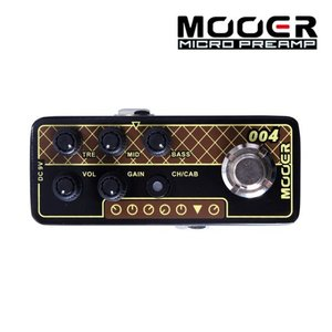 Mooer 무어 기타이펙터 Digital Preamp / Vox AC30 004 DAY TRIPPER