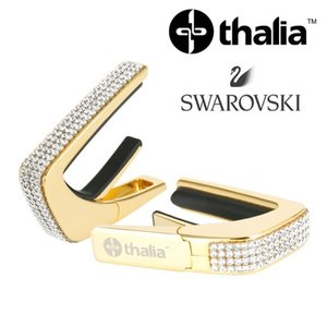 Thalia 탈리아 카포 Swarovski Crystal Inlay / 24k Gold G200-SC