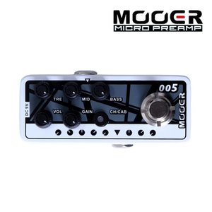 Mooer 무어 기타이펙터 Digital Preamp / Brown Sound 3 005 FIFTY-FIFTY3