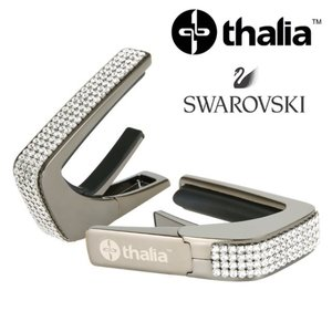 Thalia 탈리아 카포 Swarovski Crystal Inlay / Black Chrome B200-SC