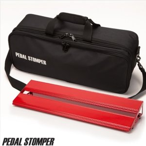 PedalStomper 페달스톰퍼 페달보드+가방 C50 Compact50 - Red Frame with Deluxe Case