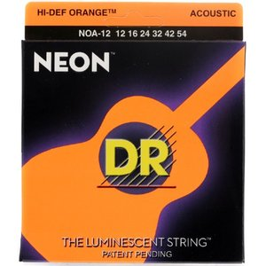 DR NEON OR 12-54 통기타줄DR
