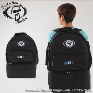 Protection Racket 스네어+싱글페달 가방 Snare & Single Pedal Combo Case뮤직메카