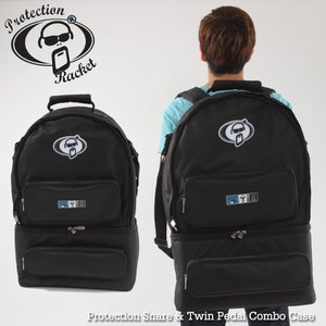 Protection Racket 스네어+트윈페달 가방 Snare & Twin Pedal Combo Case PR3275-46