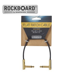 RockBoard 패치케이블 Flat Patch Cable - Gold (20cm)뮤직메카