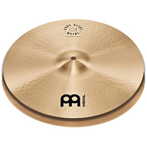 Meinl Pure Alloy 15인치 Hi-Hat 하이햇심벌 1조 Traditional PA15MH뮤직메카