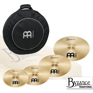 Meinl Byzance Traditional 심벌세트 BT-460-18-MCB22-BP뮤직메카