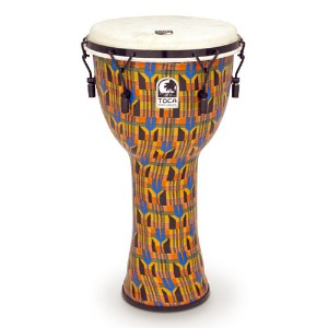 Toca 토카 Tunable 젬베 12인치 Kente Cloth,Goat  SFDMX-12K뮤직메카