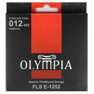 Olympia 올림피아 일렉기타 Flat Wound Stainless(012-052)뮤직메카