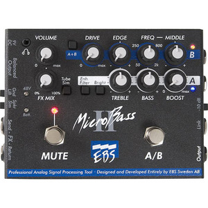 EBS MicroBass II - 2-Channel Preamp DI-box