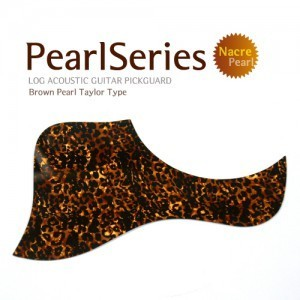 N Pearl Pickguard Tiger Brown (테일러형)뮤직메카