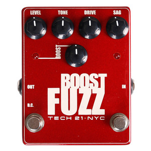 Tech21 테크이십일 이펙터 Boost Fuzz - Metallic Series