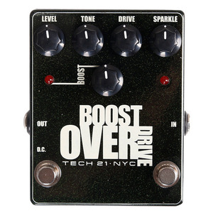 Tech21 Boost Overdrive - Metallic Series뮤직메카