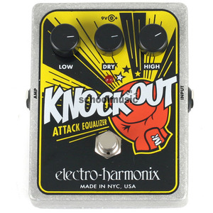 Electro Harmonix 일렉트로 하모닉스 Knockout (Attack Equalizer Reissue) 기타&베이스 사용가능뮤직메카