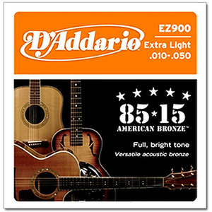 다다리오 EZ900 Extra Light 10-47 American Bronze뮤직메카