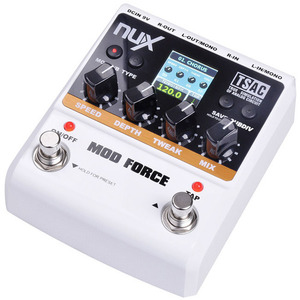 Nux 넉스 기타이펙터 Mod Force (Multi Modulation Effects)