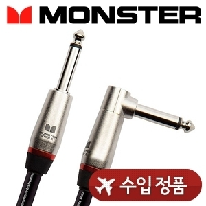 Monster 몬스터 케이블 기타/베이스용 Performer 600 Instrument Cable (Angled to straight)뮤직메카