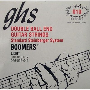 GHS Boomers Doubleball DB-GBL 010 더블볼 일렉기타줄뮤직메카