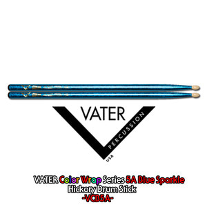 Vater 베이터 드럼스틱 Color Wrap Series -5A Blue Sparkle- / VCB5A뮤직메카