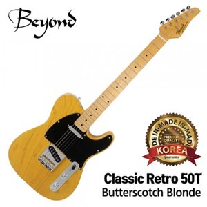 Beyond 비욘드 일렉기타 Classic Retro 50T (Butterscotch Blonde)뮤직메카